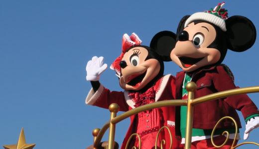 クリスマスストーリーズを見た位置と見え方inクリスマスディズニー