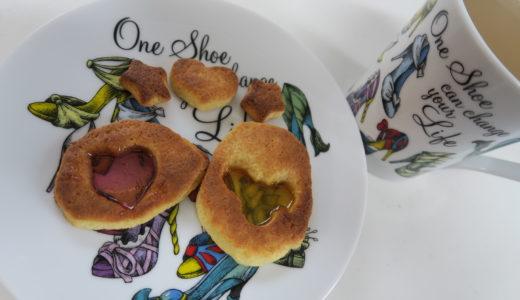 子供でも簡単なステンドグラスクッキーの作り方、4歳児でも作れました!