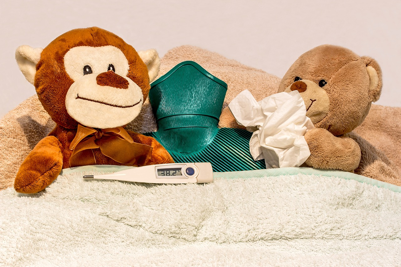 熱を下げる方法とタイミング~これでダメなら必ず病院へ~